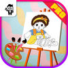 Educational Game Doll Kids Coloring Book Pro Now Available On The App Store