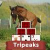 TriPeaks Horses Icon