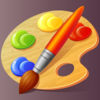 Top Coloring Book for Kids Icon