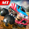 Monster Truck Arena Stunt Driver Icon