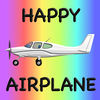 Happy Airplane by Horse Reader Icon