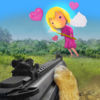 Crazy Cat Valentines Day Shooter Full