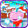 Action Game Funny Kids Snowball Battle Now Available On The App Store