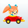 Girl And Car Runner Pro Icon
