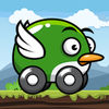 Flying Car Game Icon