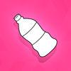 White Bottle Jump Pro Icon