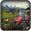 Farm Simulator Village Harvesting Tractor Driver