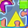 Learn With Puzzles Of Shapes