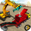 Futuristic Robot Crusher Crane