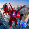 Flying Robot Simulator 3D Full Icon