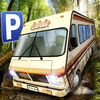 Camper Van Beach Resort Truck Simulator Icon