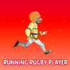 Running Rugby Player Icon