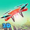 City Flying Quadcopter Simulator 3D