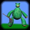 Teddy Bear Picnic Party Icon