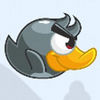 Angry Grey Bird Sky Rusher