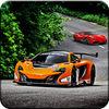 VR Modern Highway Racer Simulation Game