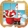 Santa Slide Puzzle For Kids