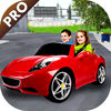 Kids Mini Car City Simulation Pro
