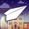 Paper Plane Flight Virtual Glider