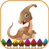 Dinosaurs Coloring Book Game for kids