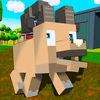 Blocky Sheep Farm 3D Full Icon