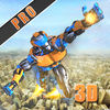 Flying Army Rescue Robot 3D Pro