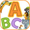 ABC Tracing Alphabet and vocabulary Animals