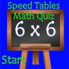 Speed Tables Math Quiz