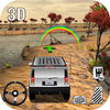Uphill 4x4 Jeep Driving 3d