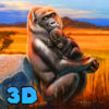 Gorilla Family Wild Life Quest