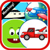 Vehicle Cartoons Matching Cards Puzzle Game Now Available On The App Store