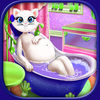 Pregnant Cat Spa And Care Game