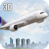 Real Cargo Airplane Flight 3D