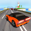 Traffic Racing Game On Beach Icon
