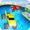 Water Slide Monster Truck RaceRacing Game Review iOS