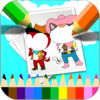 Sheriff Cat Cartoon Coloring Version Now Available On The App Store