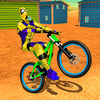 Spider Superhero Bicycle Riding Offroad Racing