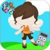 Pirate Girl Math Game Version