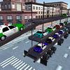 Police Car CarrierParking Transporter Simulator