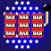 Bars and Stripes Slots Icon