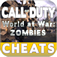 Call of Duty World at War Zombies Cheats