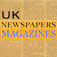 UK NEWSPAPERS and MAGAZINES Icon