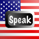 Speak American Icon
