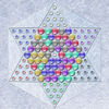 Realistic Chinese Checkers Icon
