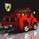 3D Pixel Racing Icon
