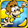 "Spider Monkey Free Game by ""Top Free Games"" icon"