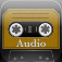 Cassette Gold Icon