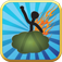 Farting stickman game free Icon