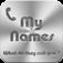 MyNames icon