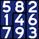 Sudoku Jigsaw Deluxe logic game Icon